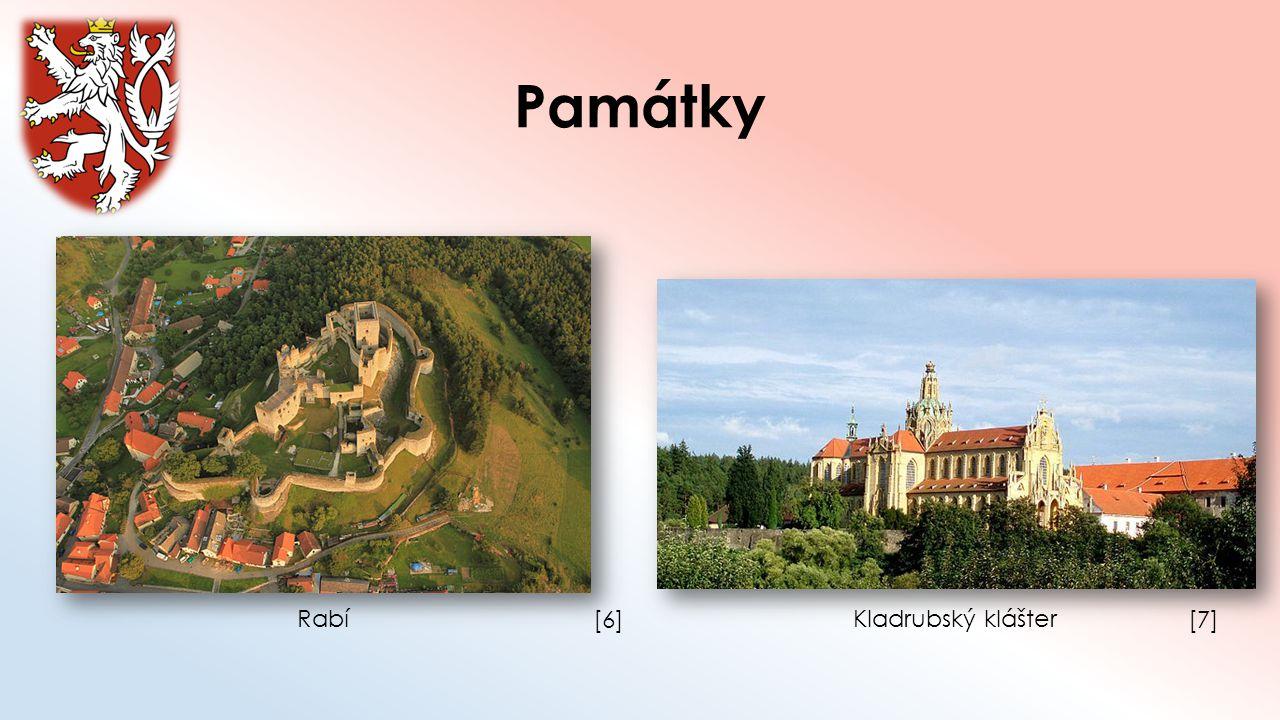 Památky Rabí [6] Kladrubský klášter [7]